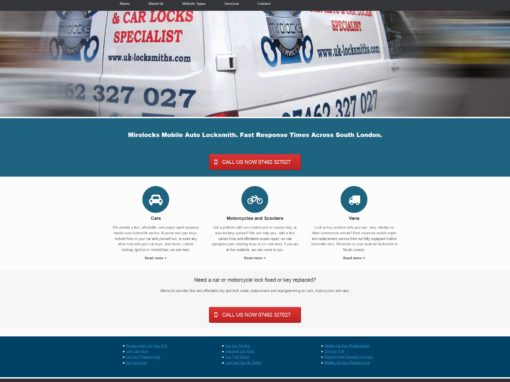 Mirolocks- Mobile Auto Locksmith London